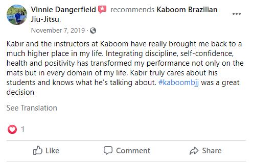 9, Kaboom Brazilian Jiu-Jitsu